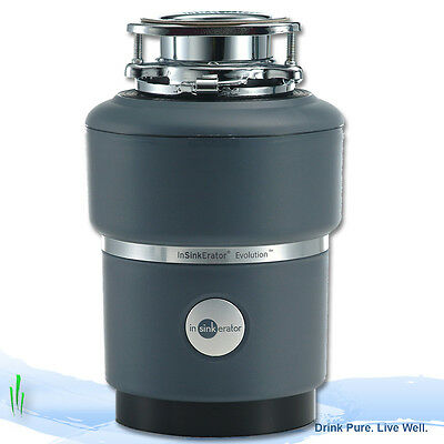 Insinkerator ISE Evolution 100 Premium Food Waste Disposal Unit with Air Switch