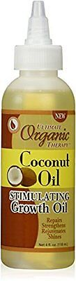 Coconut Oil Stimulating Growth for Hair 4 oz. by Ultimate Organic