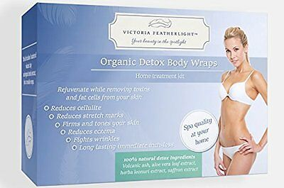 The Best Organic Detox Body Wrap Kit For Stomach Weight Loss by Featherlight