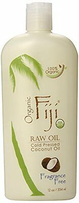 Bestselling Pure Raw Coconut Oil for Skin Body Hair & Massage by Organic Fiji