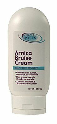 Arnica Bruise Relief Cream for Healing Swelling & Bruises by Miracle Plus