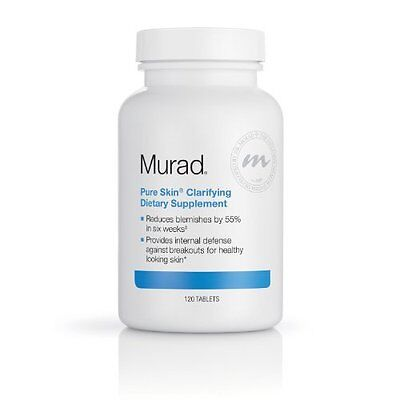 Pure Skin Clarifying Dietary Supplement by Murad 120 tablets