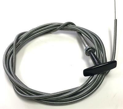 10ft Stop Choke Cable Piano Wire Control Bonnet Throttle Engine Fuel Commercial