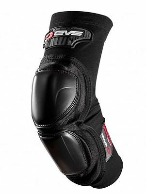 EVS Burly Elbow Pads Guard Moto Dirt Bike MTB Racing Small-Large PAIR Black