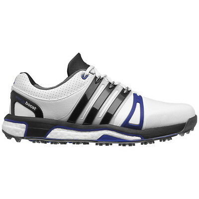 New 2016 Adidas Mens ASYM ENERGY BOOST LH Golf Shoes White / Black - Any Size!