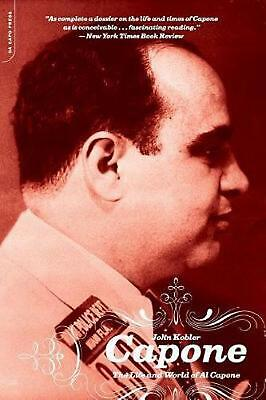 Capone: The Life and World of Al Capone by John Kobler Paperback Book (English)