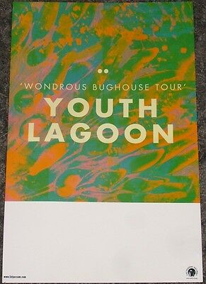 Youth Lagoon POSTER Wondrous Bughouse tour release