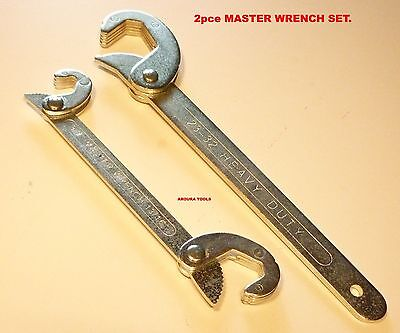 MASTER WRENCH,  2pce SET -  ( 9 - 32 mm )-  BRAND NEW.