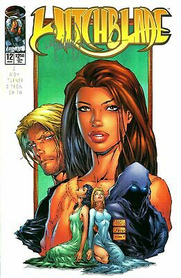 Witchblade #12 Signed By Artist Michael Turner