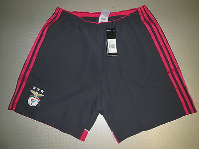 Short Hose Benfica Lissabon Away 14/15 Orig adidas Gr S M L XL XXL player issue