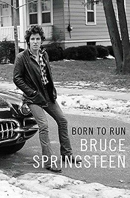 Born to Run by Bruce Springsteen - New Book