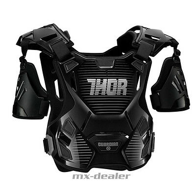 Thor Guardian Kinder Brustpanzer Brustschutz mx Enduro motocross schwarz