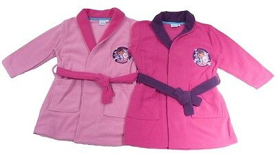 Girls Dressing Gown Disney Doc Mcstuffins 2-6 Years Old