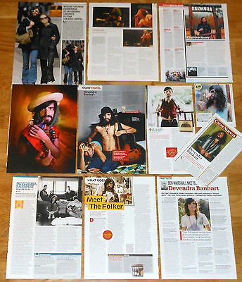 DEVENDRA BANHART clippings photos magazine articles pictures cuttings
