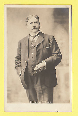 Actor - Rotary Photographic Postcard - Actor -  George  Edwardes  -  C 1900-10