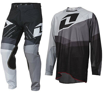 2016 ONE INDUSTRIES VAPOR MOTOCROSS MX KIT SHIFTER GREY BLACK bike pants jersey