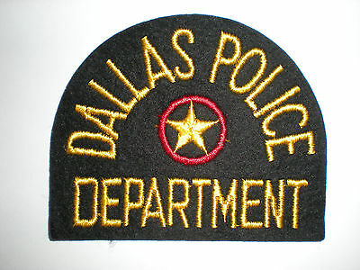 Dallas, Texas Police Department Patch.