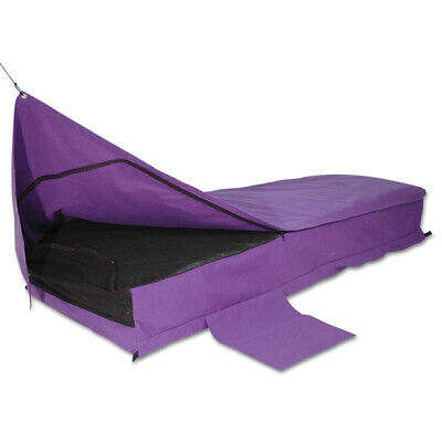 Sahara Traveller PURPLE Deluxe DOUBLE Traditional Swag & Bag