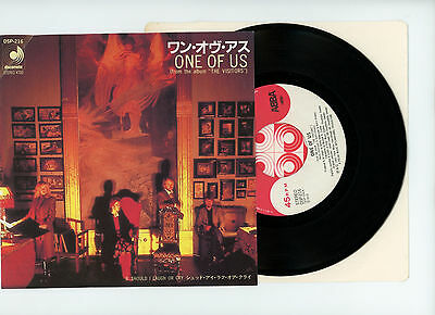 "ABBA 7"" PS Japan ONE OF US a0940"