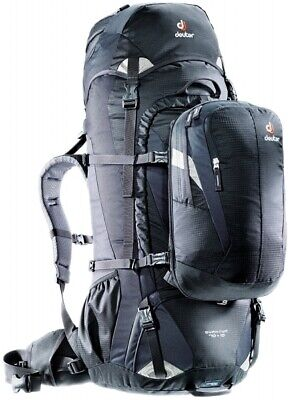 Deuter Quantum 70+10L Hybrid Travel Rucksack and Daypack - Black