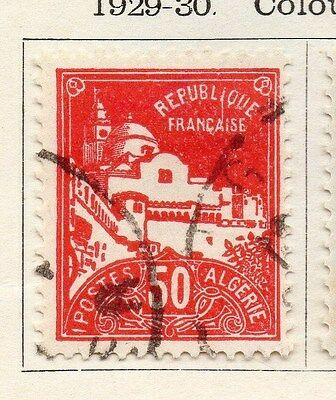 Algeria 1929-30 Early Issue Fine Used 50c. 087313