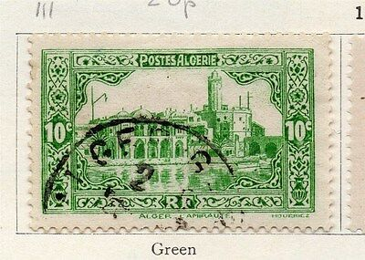 Algeria 1936 Early Issue Fine Used 10c. 087317