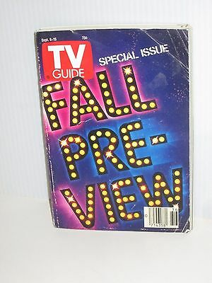 Tv Guide Television Magazine September 9 1989 Fall Preview Shows  Cover