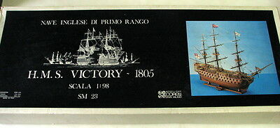 H.m.s. Victory 1805 Wooden Ship Model 1:98 Scale Mib, A Beauty