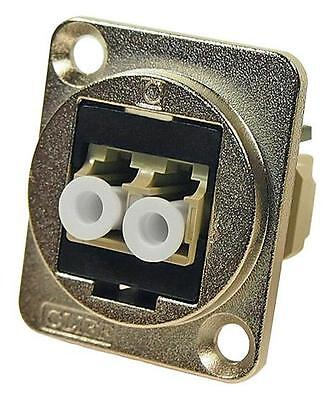 Cliff Electronic Components - CP30214M - Lc Duplex Mm Adapter, Csk Hole, Black