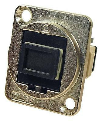 Cliff Electronic Components - CP30216M - Sc Simplex Mm Adapter, Csk Hole, Black