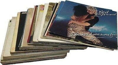 "Craft LOT of 25 --- 12"" LP VINYL Record albums COVERS ONLY Party Decorations"