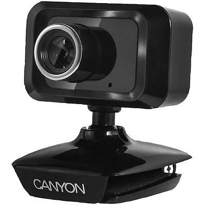 Canyon - CNE-CWC1 - Hd+ Webcam - 1.3 Mp, Usb 2.0