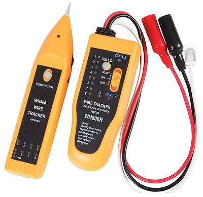 Tenma Network Cable Tester & Tracker For Cat5e 6e Wire Coaxial Cable & Usb Cable