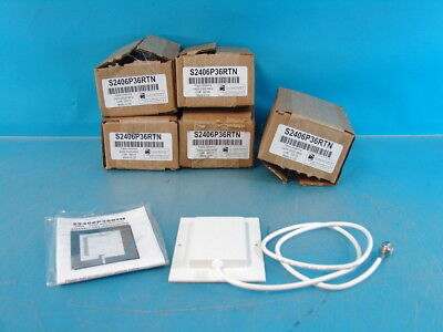 Lot of 5 CushCraft Patch Antennas S2406P36RTN 2400-2500MHz 6dBi NEW IN BOX