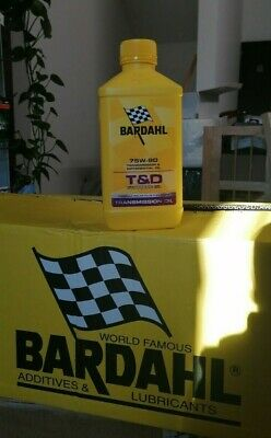 BARDAHL T&D Synthetic Oil 75W90 Lubrificanti Olio Trasimissioni Differenziali