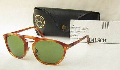 buy ray ban usa  unworn exc vintage 80s b&l ray ban usa premier combo a round sunglasses w1367 bl