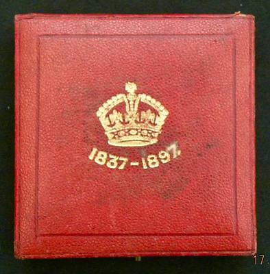 1897 - VICTORIA - Diamond Jubilee Bronze Medal IN CASE OF ISSUE 56mm - SN8974
