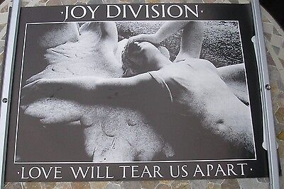 JOY DIVISION Love Will Tear Us Apart promo poster 32 x 20