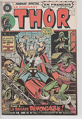 THOR #23 french comic français EDITIONS HERITAGE