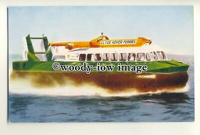 f0877 - Clyde Hover Ferries SRN 6 Hovercraft - postcard