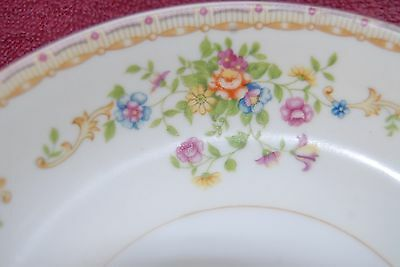 "Patricia by National China 6"" Dessert Plate Japan Colorful Flower More available"