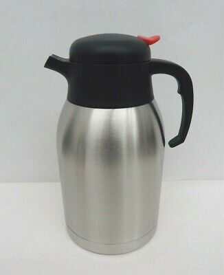 Stainless Steel Vacuum Insulated 2 Liter Coffee Pot/Carafe