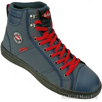 Lee Cooper Steel Toe Cap Navy Baseball Style Safety Boots. Shoes Sneakers