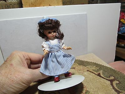 "5"" tall McDonalds Madame Alexander Wizard of Oz Dorothy doll."