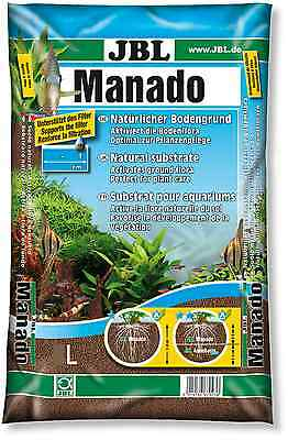 JBL Manado 1.5, 3, 5, 10, 25 L Aquarium Fish Tank Plant Growth Substrate Gravel