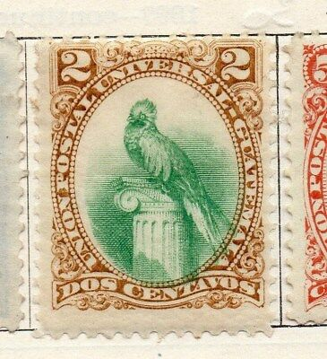 Guatemala 1881 Early Issue Fine Mint Hinged 2c. 087544
