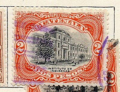 Guatemala 1902 Early Issue Fine Used 2P. 087575