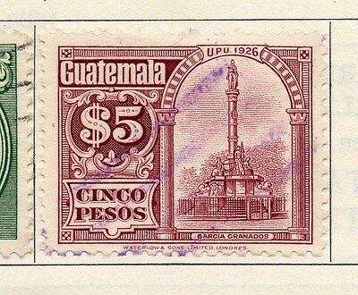 Guatemala 1926 Early Issue Fine Used 5P. 087600
