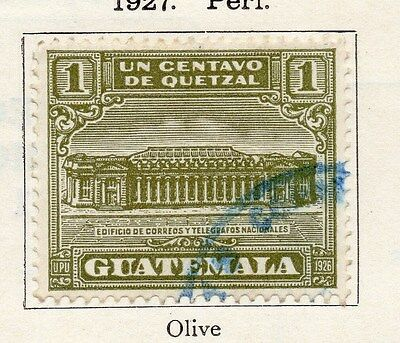 Guatemala 1927 Early Issue Fine Used 1c. 087601