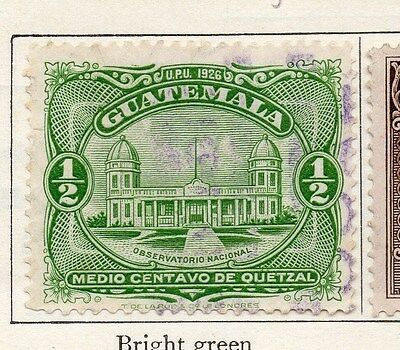 Guatemala 1929 Early Issue Fine Used 1/2c. 087602